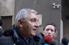 Beuran s-a rastit la jurnalisti, dupa 3 ore de audieri la Omoruri: Haideti ca ajungeti la urgenta pana la urma (Video)