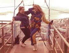 Beyonce, bungee jumping de pe cea mai inalta cladire din emisfera sudica