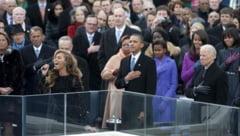 Beyonce a facut play-back la investitura lui Obama (Video)