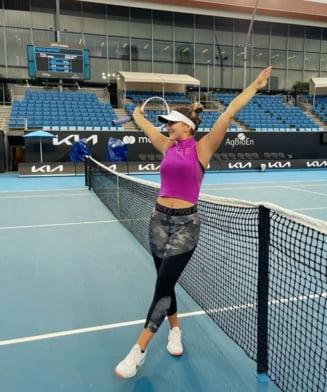 Bianca Andreescu a invins-o pe Mihaela Buzarnescu in primul tur la Australian Open. A fost primul meci al canadiencei de origine romana in ultimele 15 luni