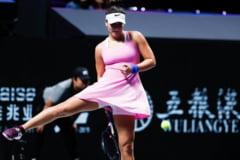 Bianca Andreescu abandoneaza in meciul cu Karolina Pliskova si paraseste Turneul Campioanelor