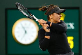 Bianca Andreescu abandoneaza in optimi la Miami