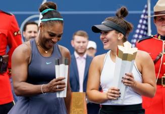Bianca Andreescu dezvaluie ce i-a transmis Serena Williams dupa finala de la Rogers Cup