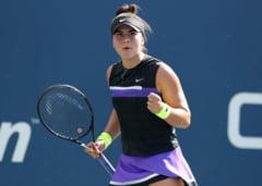Bianca Andreescu o invinge pe Caroline Wozniacki in turul trei de la US Open