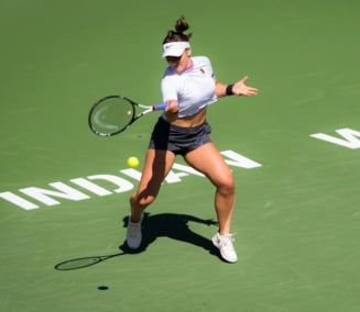 Bianca Andreescu o umileste pe Muguruza si se califica in semifinale la Indian Wells