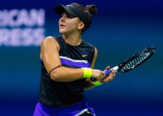 Bianca Andreescu s-a calificat in semifinale la US Open