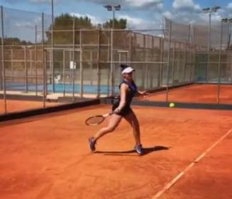 Bianca Andreescu s-a calificat in turul doi la Roland Garros dupa un meci cu 17 break-uri!