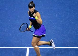 Bianca Andreescu se califica in sferturi la US Open dupa ce o invinge pe jucatoarea care le-a eliminat pe Halep si Cirstea