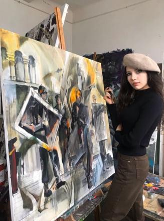 "Bianca Paraschiv castiga singurul Premiu I acordat in cadrul Concursului International de Arte plastice ""Martha Bibescu"" - editia I"