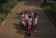 Bicicleta de 7 persoane (Video)