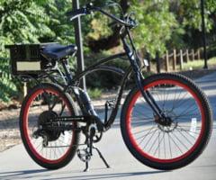 Bicicleta electrica cu autonomie de 100 de kilometri