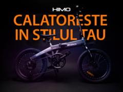 Bicicleta electrica pliabila HIMO Z20 este disponibila in Romania