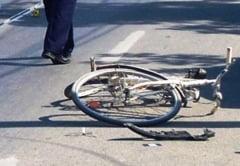 Biciclist accidentat in Hemeius