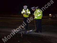 Biciclist accidentat mortal la Rastoaca