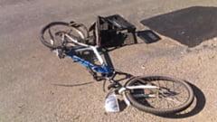 Biciclist din Marginea, accidentat grav de un sofer care nu i-a acordat prioritate