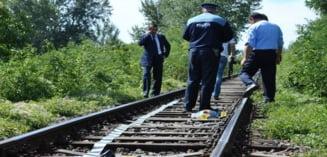 Biciclist mort dupa ce a fost lovit de tren