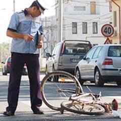 Biciclist omorat de un sofer beat