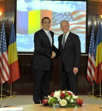 Biden, declaratie comuna cu Ponta: Romania poate sa devina punctul cheie care leaga pietele de energie