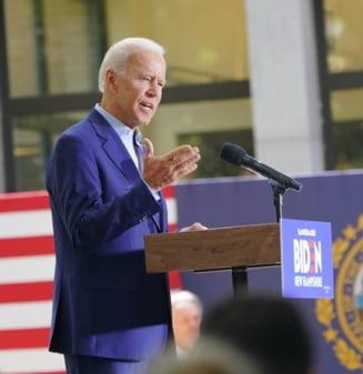 Biden cere publicarea transcrierii unei convorbiri intre Trump si oficiali ucraineni, acuzandu-l ca a cerut favoruri politice