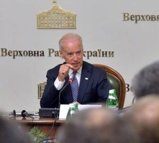 Biden la Kiev, pentru discutii despre criza din estul tarii