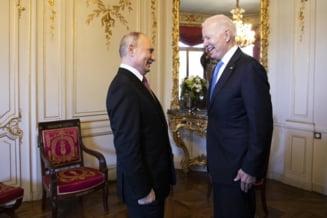 Biden sustine ca a pus acentul asupra drepturilor omului in summitul cu Putin. Raspunsul presedintelui Rusiei