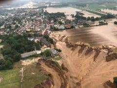 Bilanțul negru al inundațiilor din Germania. 180 de oameni și-au pierdut viața VIDEO