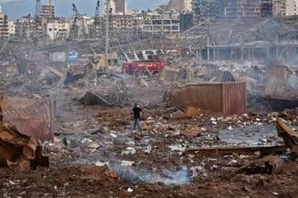 """Bilant negru dupa exploziile din Beirut: cel putin 50 de morti si 2.750 de raniti. Premierul libanez: """"Responsabilii acestei catastrofe vor plati"""""""