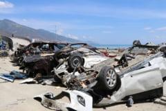 Bilantul cutremurului urmat de tsunami din Indonezia a trecut de 1.900 de morti