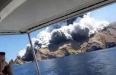 Bilantul eruptiei vulcanului din Noua Zeelanda urca la 20 morti