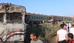 Bilantul tragediei feroviare din Egipt creste: 49 de morti si peste 120 de raniti