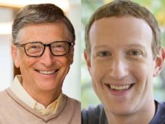 Bill Gates și Mark Zuckerberg au făcut schimb de locuri în topul celor mai bogați oameni din lume. Pozițiile ocupate de cei doi miliardari
