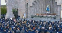 Biserica Armeana a canonizat cele 1,5 milioane de victime ale genocidului armean (Video)