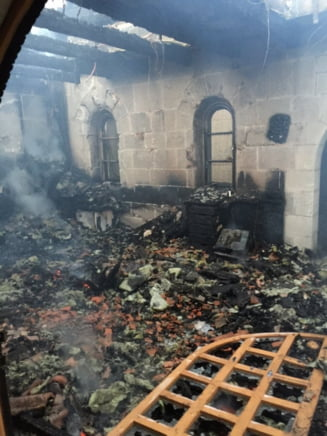 Biserica Inmultirii Painilor si a Pestilor din Israel, incendiata de extremisti evrei