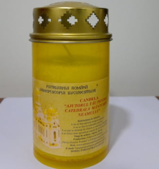 Biserica lanseaza candela oficiala de Inviere - Cum arata si cat costa (Galerie foto)