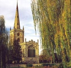 Biserica unde este inmormantat Shakespeare, in pericol de prabusire