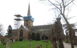 Biserica unde sunt ramasitele lui Shakespeare, in pericol de prabusire