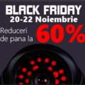 Black Friday: Sisteme de supraveghere si automatizari de porti la Atu Tech!