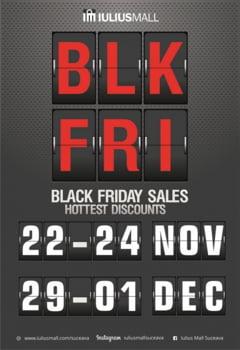 Black Friday aduce reduceri de pana la 70% la Iulius Mall Suceava
