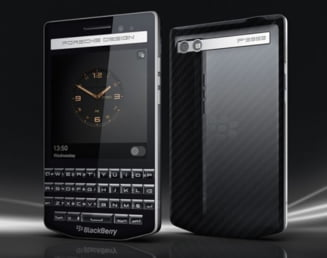 Blackberry nu se preda - vine cu o oferta Porsche de lux