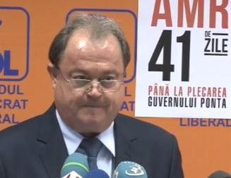 Blaga: Daca Martin Schulz ii face campanie lui Ponta, refuzam intalnirea cu el