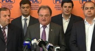 Blaga, candidat la sefia PDL - Macovei, Preda, Flutur, de partea lui (Video)