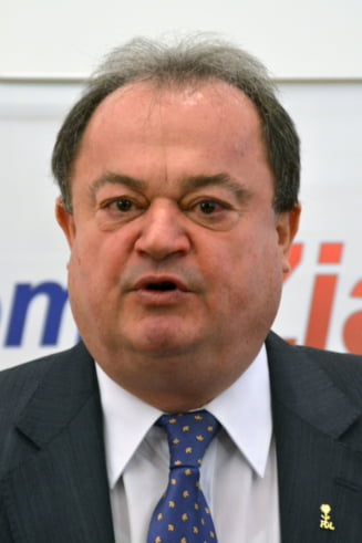 "Blaga anunta motiune impotriva lui ""Ponta zapciul"""
