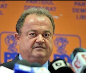 Blaga vrea unificarea PDL cu PNL dupa prezidentiale. Ce crede despre candidatura lui Udrea