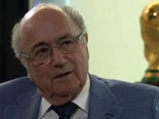 Blatter, discurs incredibil: Nu exista coruptie la FIFA! Nu exista coruptie in fotbal!