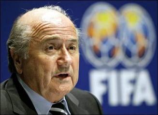 Blatter face o dezvaluire incendiara despre Platini