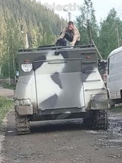 "Blindat senilat si ""depozit - ambulant"" de armament, descoperite la infractorii care opereaza la granita romano-ucraineana"