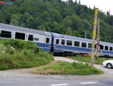 Blocaj pe calea ferata: Tren international oprit, dupa ce s-a rupt o sina UPDATE