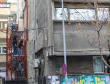 Blocul de pe strada Stirbei Voda 20 urmeaza sa intre in proces de consolidare
