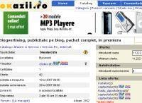 Blogvertising, licitat pe OKazii