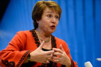 Bloomberg scrie ca sefa Bancii Mondiale va fi viitorul presedinte al Comisiei Europene